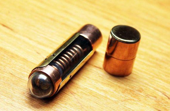 Steampunk usb flash drive 16 GB brass copper glass pendrive unique gadget…