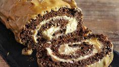 Φανταστικό Ρολό Σοκολάτας - Chocolate Peanut Butter Swiss Roll
