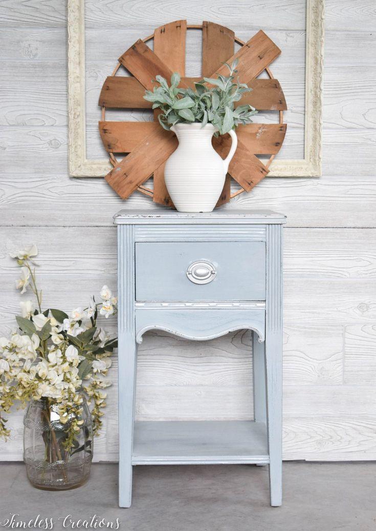 Dreamy Light Blue Side Table Blue Side Table Furniture Fix Buy Bedroom Furniture