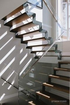 Receseed Frameless Glass Guard Rail Design Ideas, Pictures, Remodel and Decor