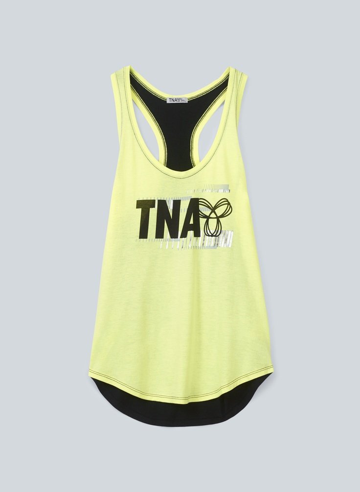 TNA Tola Tank, $30 at Aritzia.com.