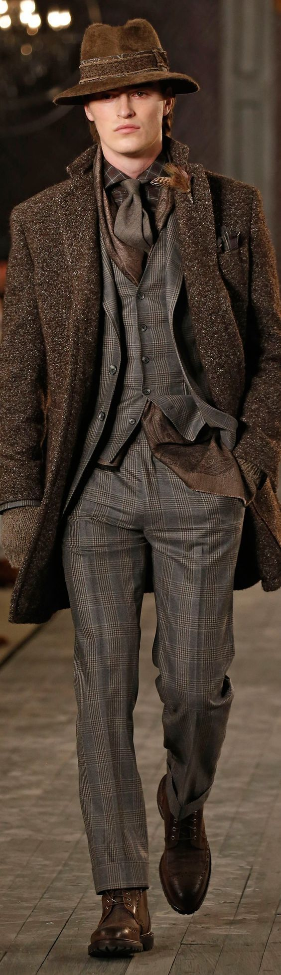 Joseph Abboud Fashion Show & More details