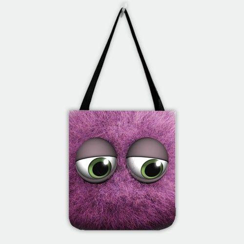 Randall Boggs Monster University Shopper Tote Bag.