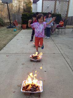Chaharshanbe suri Festa del Fuoco in Iran