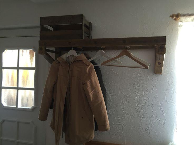 Garderobe Leiter 8 besten garderobe bilder auf garderoben kleiderständer