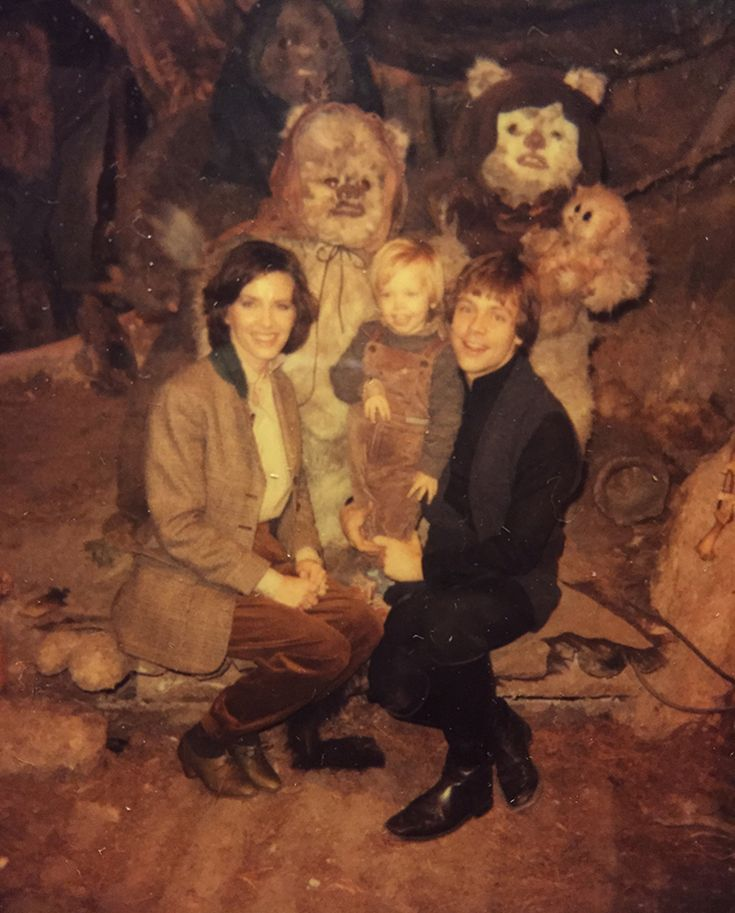 Marilou, Nathan, and Mark Hamill with some furry companions. Mark Hamill, the actor who played Luke Skywalker in the Star Wars films, has recently shared his fantastic family photo album that featu…