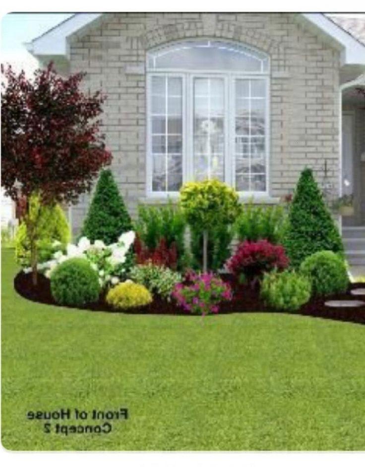Low Maintenance Landscape Ideas Front Yard