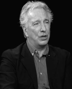 judasjezebel:     Alan Rickman - Charlie Rose... - I miss you, Alan.