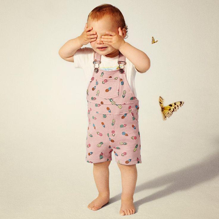 Stella McCartney Kids - Baby Girls Pink Dungarees  