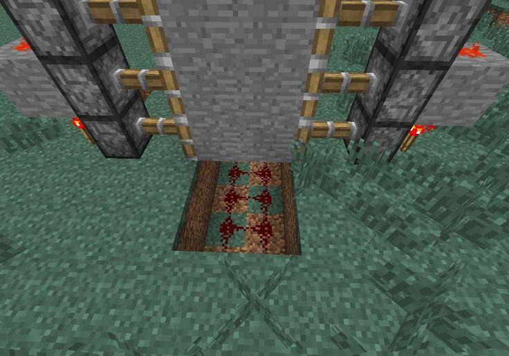 How to Create a Hidden Piston Door in Minecraft  Minecraft, Minecraft creations, Doors