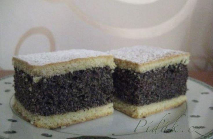 Píďák.cz - Recept - Plnený makový koláč