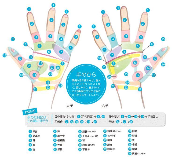 上半身の不調は手のひら刺激で解決:日経ウーマンオンライン