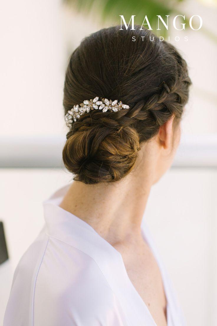 #updo #hairstyles #braid #bun #elegant #simple #bride #bridal #ideas #wedding #weddingday