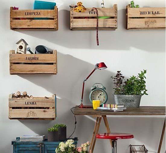 Más de 1000 ideas sobre decoración reciclada para el hogar en ...