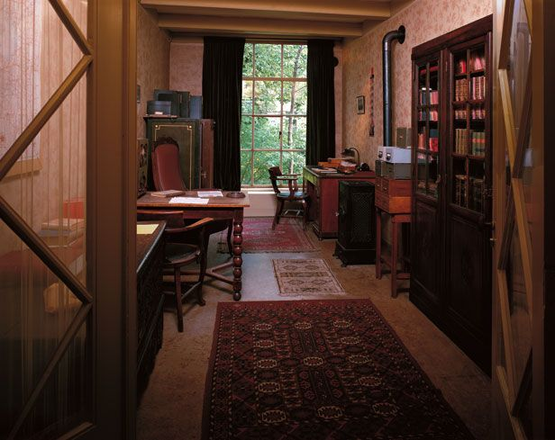 Otto Frank's Office - Anne Frank Guide