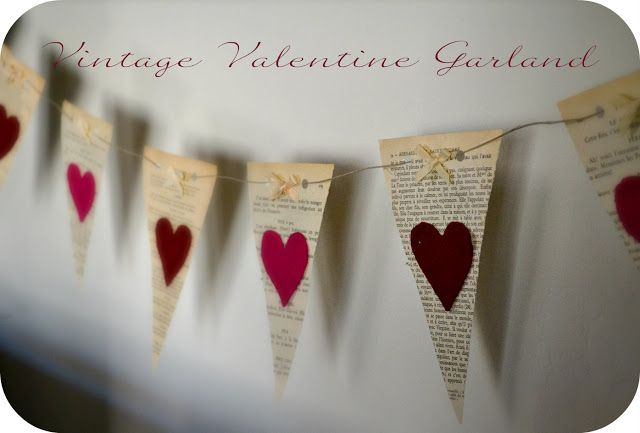 Bellapia Clothing Co.: Valentine Garland- Vintage style