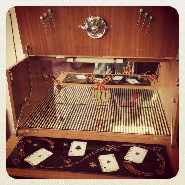 Vintage Drinks Cabinet CabinetFurniture RestorationManhattanCocktailDining Room
