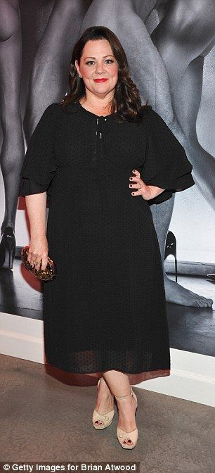 Melissa McCarthy looked to have lost a lot of weight on Friday