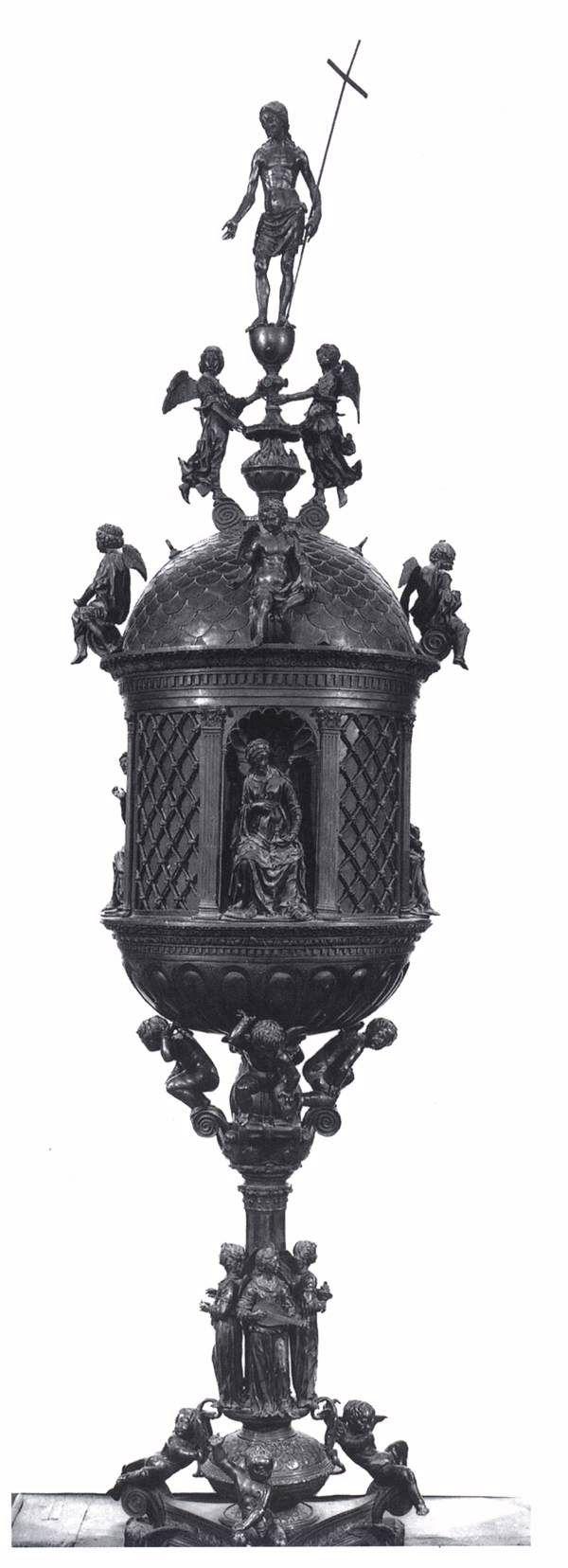 Веккьетта. Евхаристическая Скиния. 1467-72 гг. Bronze. Дуомо, Сиена.