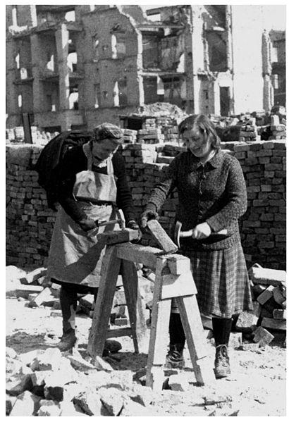 Berlin Trümmerfrauen