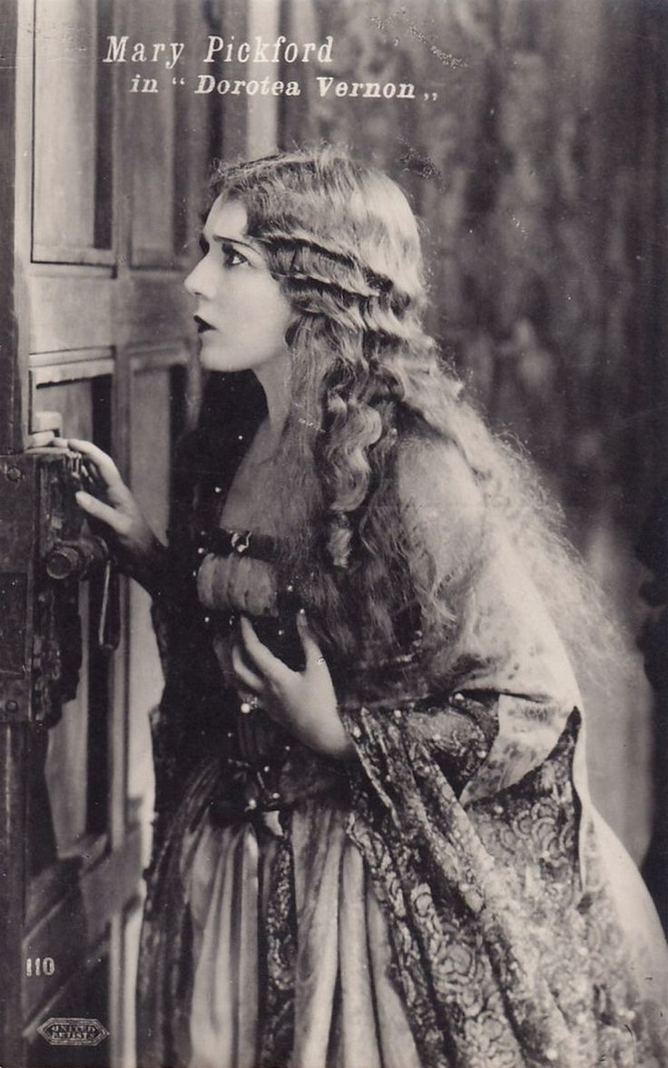 "Mary Pickford in ""Dorothea Vernon"". 1924."