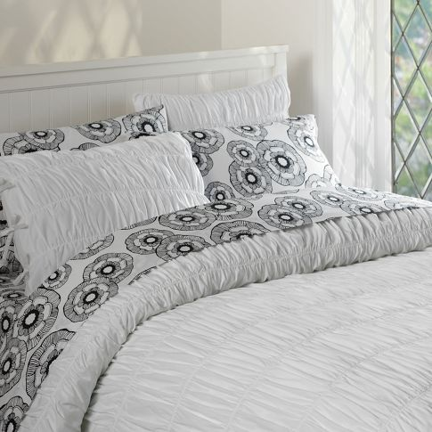 pottery barn teen ruched duvet cover and sham they do have a duvet