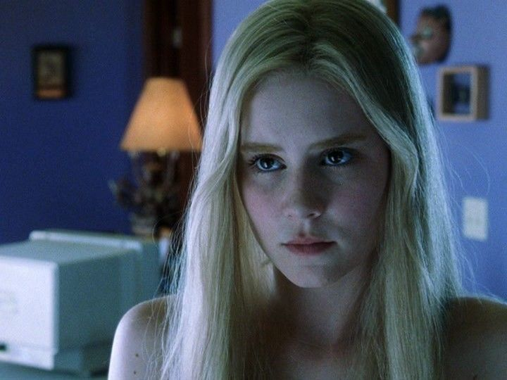 Alison Lohman in White Oleander...such a good movie and book