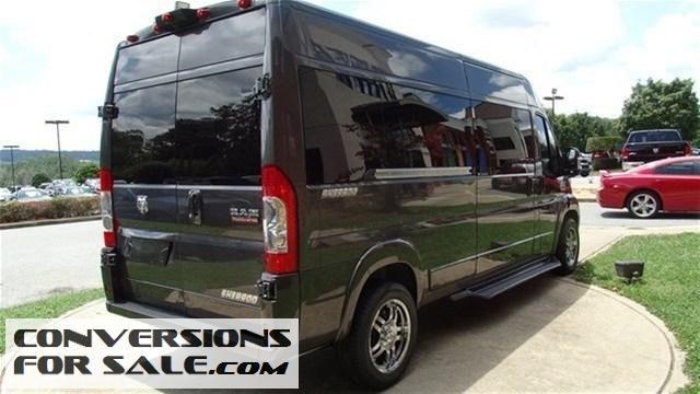 2014 Ram ProMaster 3500 9 Passenger Sherrod Conversion Van