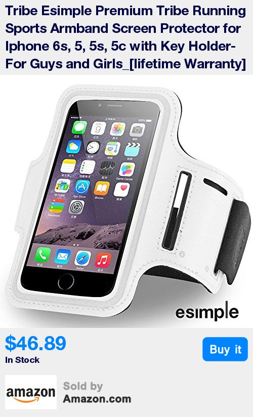 Take your phone with you one all of your active adventures using the Esimple iPhone 6 Armband. tIt's near-form-fitting design securely holds your iPhone 6 with a transparent cover for effortless touch-screen capabilities. * An adjustable strap allows you to control the fit of the armband and can be worn around any section of the arm. The Esimple Armband is perfect for those days you'd like to make calls, listen to music or follow app-based workouts during your physical activity sessions. The…