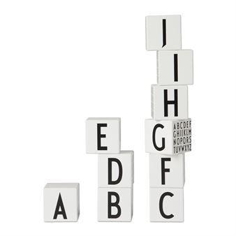 Design Letters Alphabetklötze - weiß - Design Letters