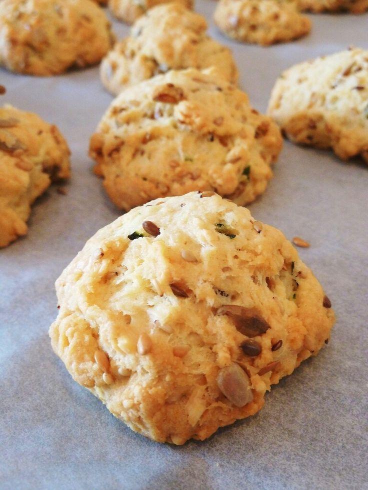 Cookies parmesan et pignons