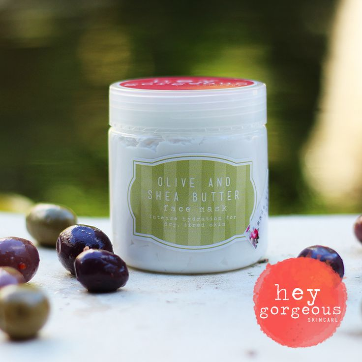 Olive Oil & Shea Butter to deeply nourish the skin leaving it soft, smooth and wonderfully hydrated.