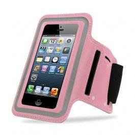 Op zoek naar sportiefve bescherming tijdens het hardlopen? Bekijk dan deze IPhone 4 / 4S Sportarmband Roze