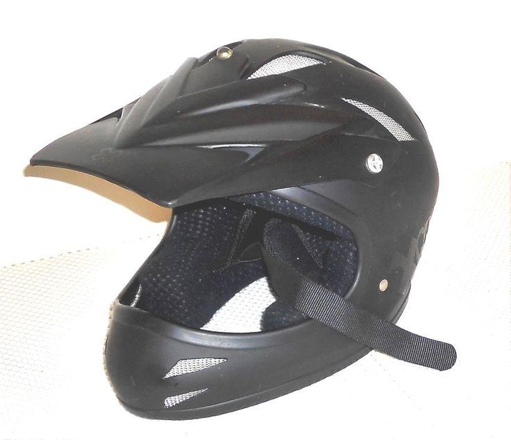Bell XGames Youth M130  Black Motorcross BMX Helmet with Visor Small 55-57 cm #Bell