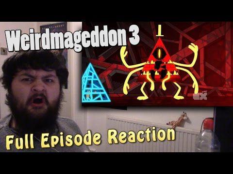 Gravity Falls - Weirdmageddon 3 - Season 2 Episode 20 - Finale [FULL EPISODE REACTION] - MrFreakins - YouTube