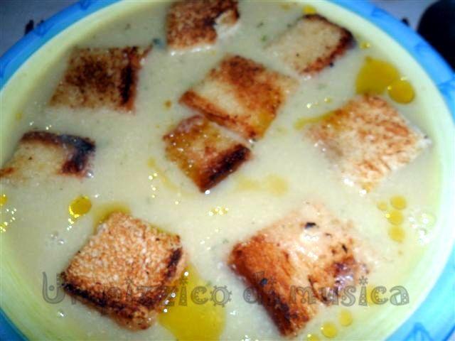 Zuppa patate e porri light