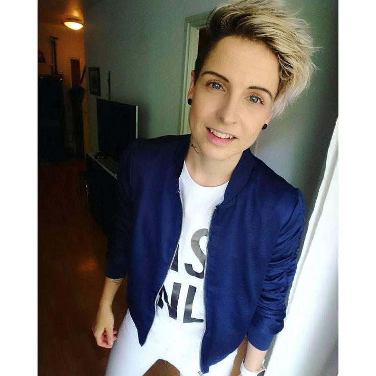 tuiqeLet yourself feel happy if you feel like you are.   #sunday #happy #photooftheday #rawcouture t-shirt #cashonly #tomboy #tomboymodel #tomboystyle #tomboylook #tomboyfashion #tomboyfashion1 #tomboylookbook #tomboysww #tomboyss #loversstyle #unisex #style #lgbt #shorthair #blueeyes #blonde #tattoo #inked #tattooedgirls #finnishgirl
