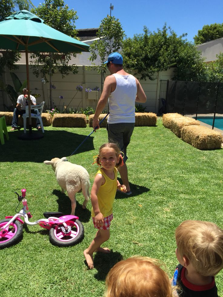 Barnyard Party, daddy found a lamb!