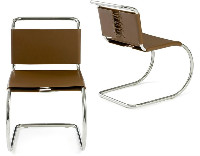 MR Side Chair Design Ludwig Mies van der Rohe 1927 Iconic