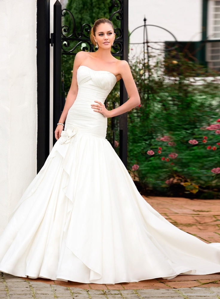 24 best wedding dresses images on pinterest wedding dressses Wedding Dress Shops Queen St Mall stylish french mikado a line soft dipped strapless wedding dress with high quality a wedding dress shops queen st mall brisbane