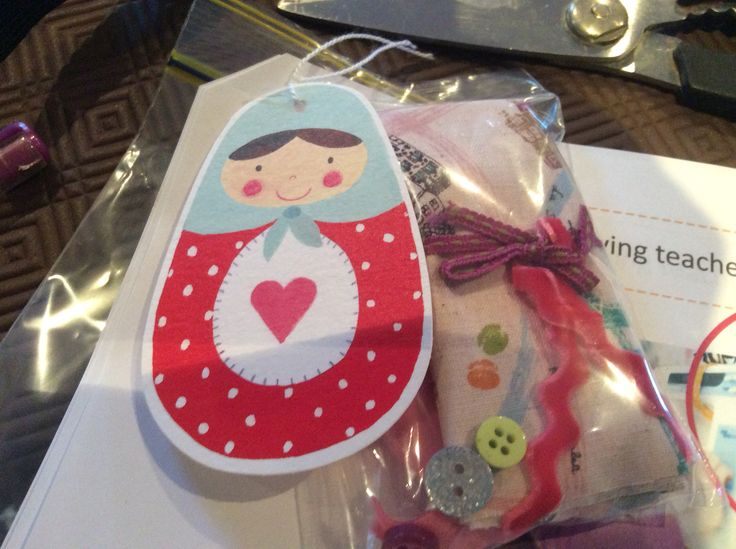 Tag and Presentation for gift