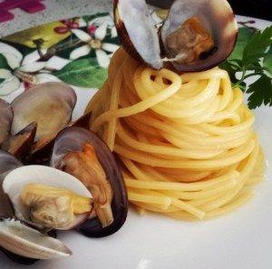 Le ricette della Lady: spaghetti in salsa di vongole