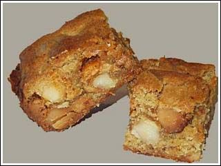Maple Butterscotch Macadamia Blondies These blondies from the Whole ...