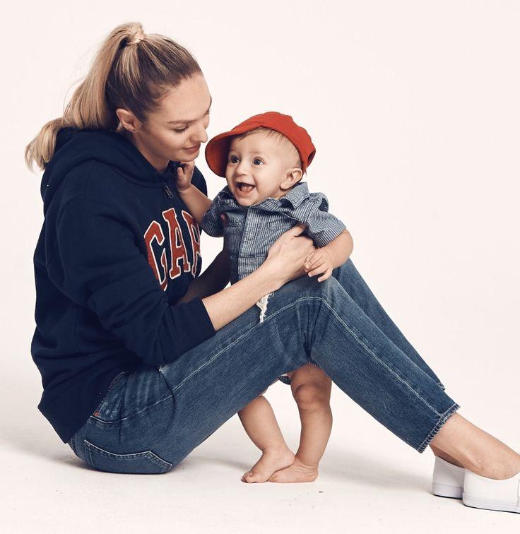 Candice Swanepoel and son Anacã star in Gap 'Mama Said' campaign