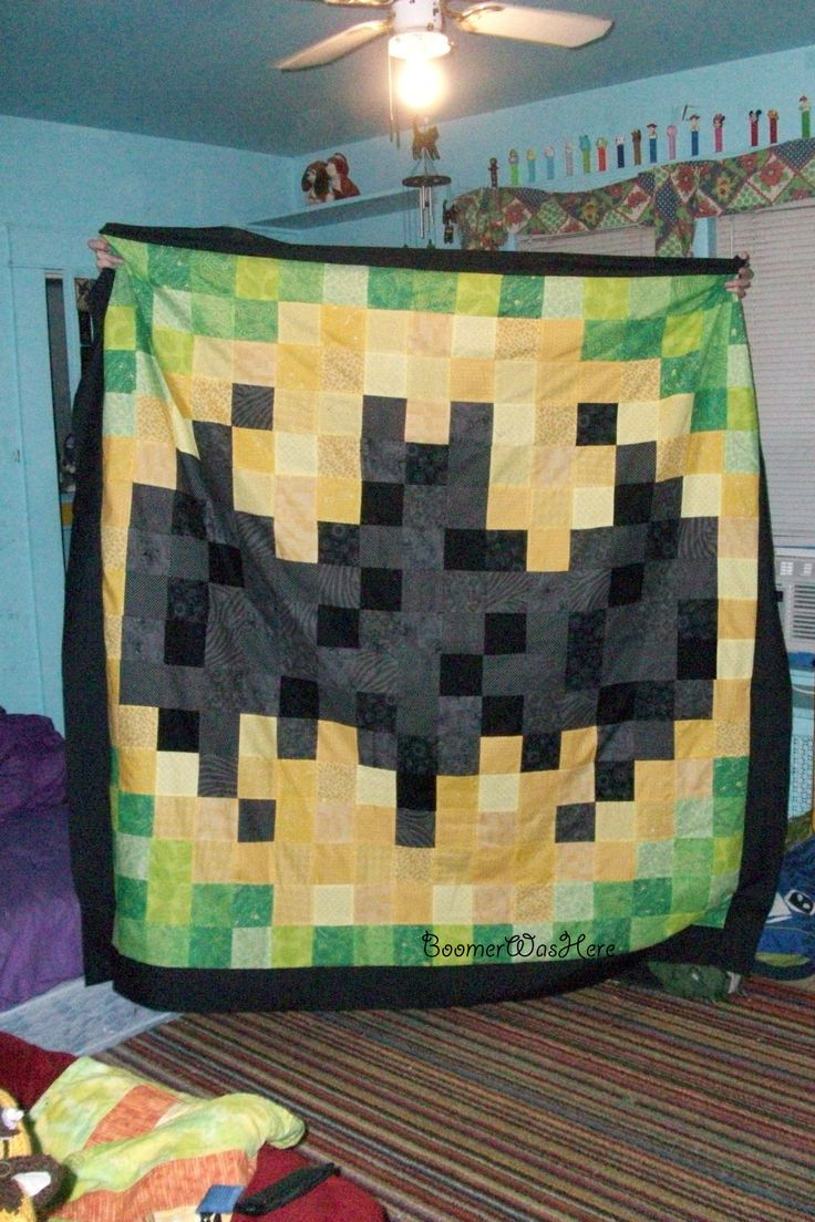 Batman Quilt I made :)