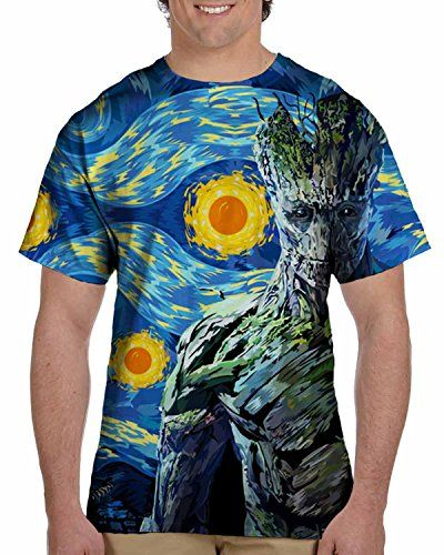 Groot Guardian of the starry night Design 3D Print T-shir... https://www.amazon.com/dp/B01HNOKB2W/ref=cm_sw_r_pi_dp_uAzJxb4N700ZA