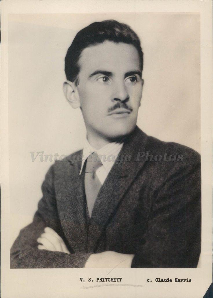 1932 Press Photo VS Pritchett British Writer Author Literary Critic Short Story