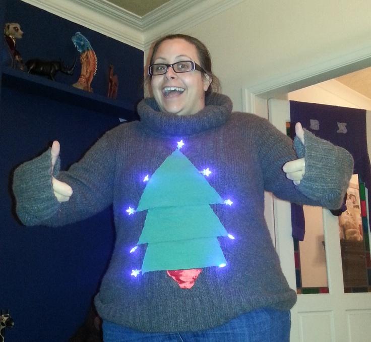 Homemade Crap Christmas Jumper!!