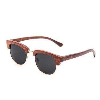 Lunettes de soleil en bois Rezin de chez BrandAlley #look #lunettes #mode #men
