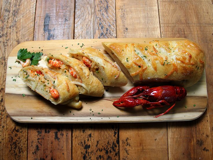 Bring the flavors of Louisiana to your table with crawfish bread!